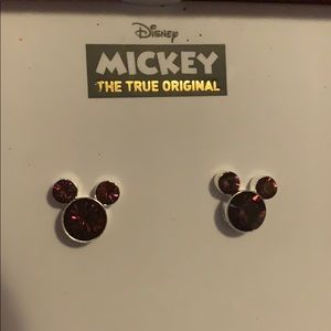 Mickey Mouse earrings for February birthday